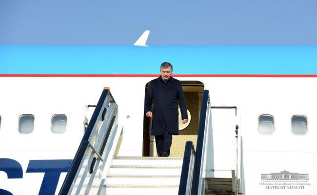 Шавкат Мирзиёев посетит Наманганскую область