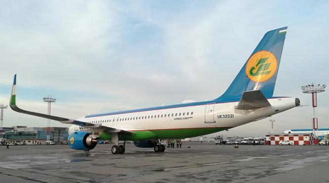 Узбекистан купил новейший самолет Airbus A320 neo