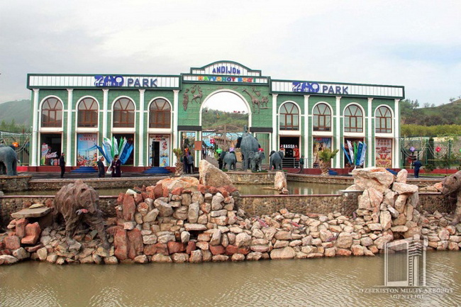 В Андижане открылся новый зоопарк