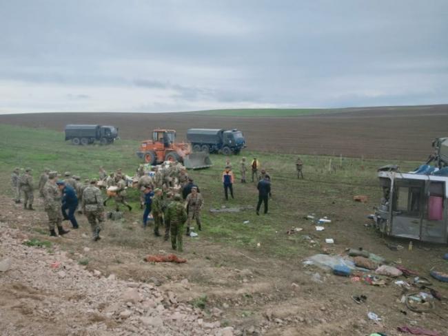 Президент Казахстана сообщил, что в ДТП с автобусом все 11 погибших были гражданами Узбекистана