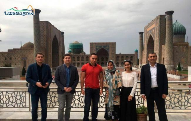 Дочь Президента Азербайджана прибыла в Самарканд