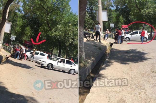 В Юнусабадском районе женщина сбила велосипедиста