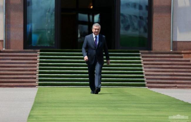 Президент отбыл в Кыргызстан