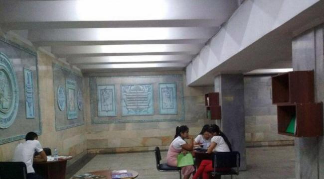 В Ташкентском метро появилась библиотека
